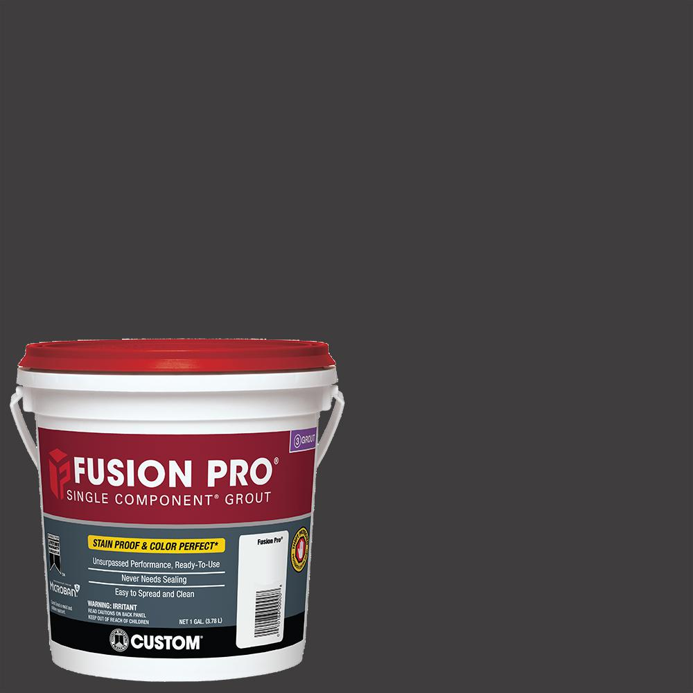 Custom Building Products Fusion Pro #60 Charcoal 1 Gal. Single Component Grout