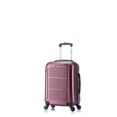 Pilot lightweight hardside spinner 20 in. carry-on Wine