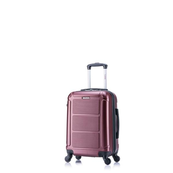 InUSA Pilot lightweight hardside spinner 20 in. carry-on Wine IUPIL00S-WIN