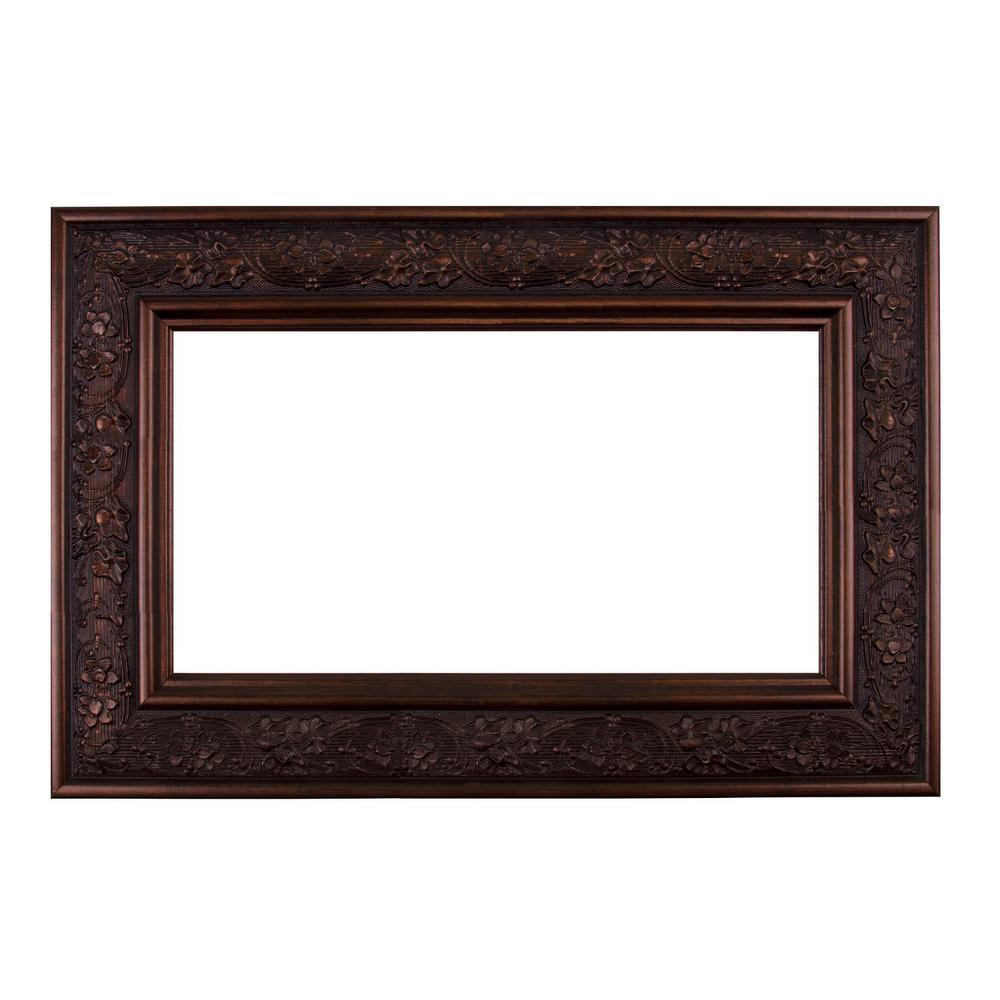 Mirror Frame Kit In Bronze Brown