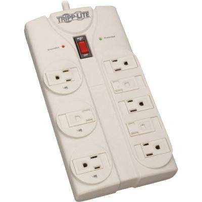 Protect It! 8-ft. Cord with 8-Outlet Strip