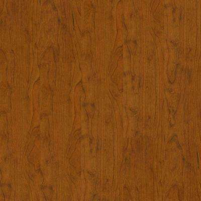 Native Cherry 8 mm Thick x 5.31 in. Wide x 47-49/64 in. Length Click Lock Laminate Flooring (17.65 sq. ft. / case)