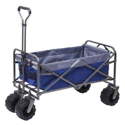 7 cu. ft. 21 in. W Steel Outdoor Folding Wagon