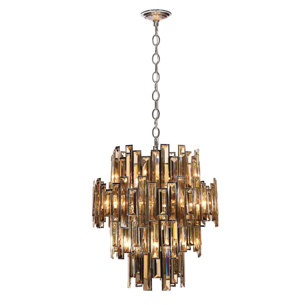 Eurofase vienna collection 12 light chrome chandelier with crystal eurofase vienna collection 12 light chrome chandelier with crystal shade arubaitofo Image collections