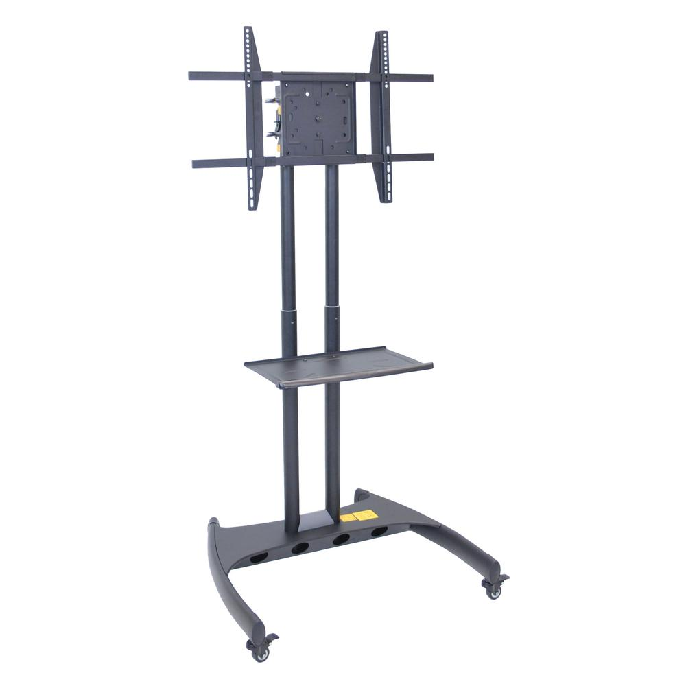 Luxor Adjustable Height Rotating LCD TV Stand + Mount