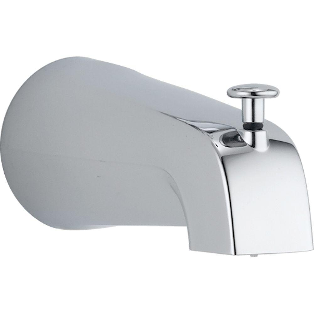 home fit spout centre tub slip eurostyle comfort chrome diverter grohe