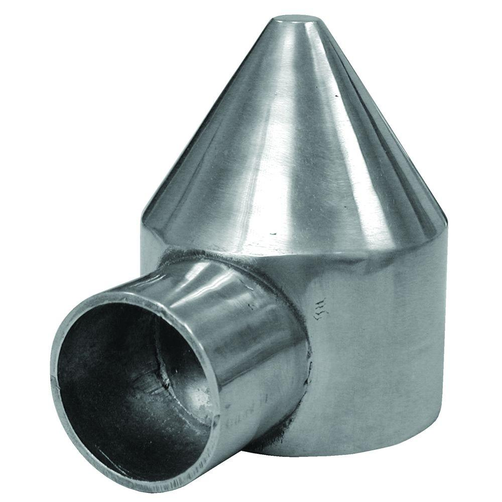 2-3/8 in. Aluminum One-Way Chain Link Bullet Cap