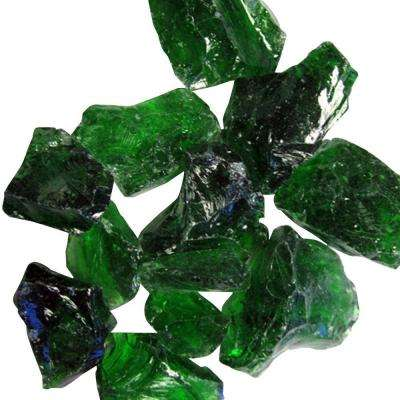 0.75 in. Green Recycled Fire Glass