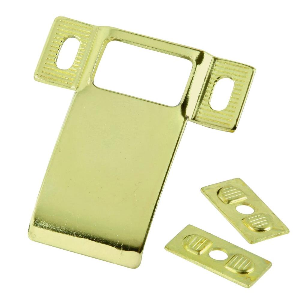 Prime Line 10 In X 34 In Polished Brass Door Kick Plate