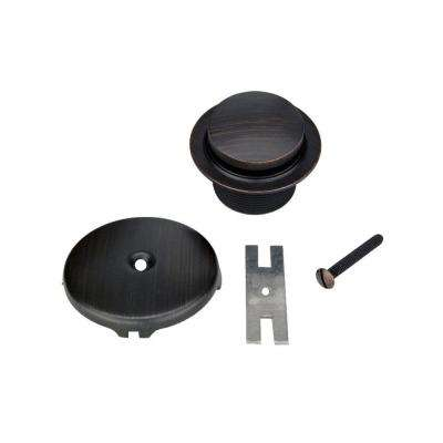 Tub Drain Trim and Single-Hole Overflow Cover for Bath Tubs, Oil Rubbed Bronze