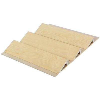 1.81 in. x 19.125 in. x 19.5 in. Wood Spice Drawer Organizer
