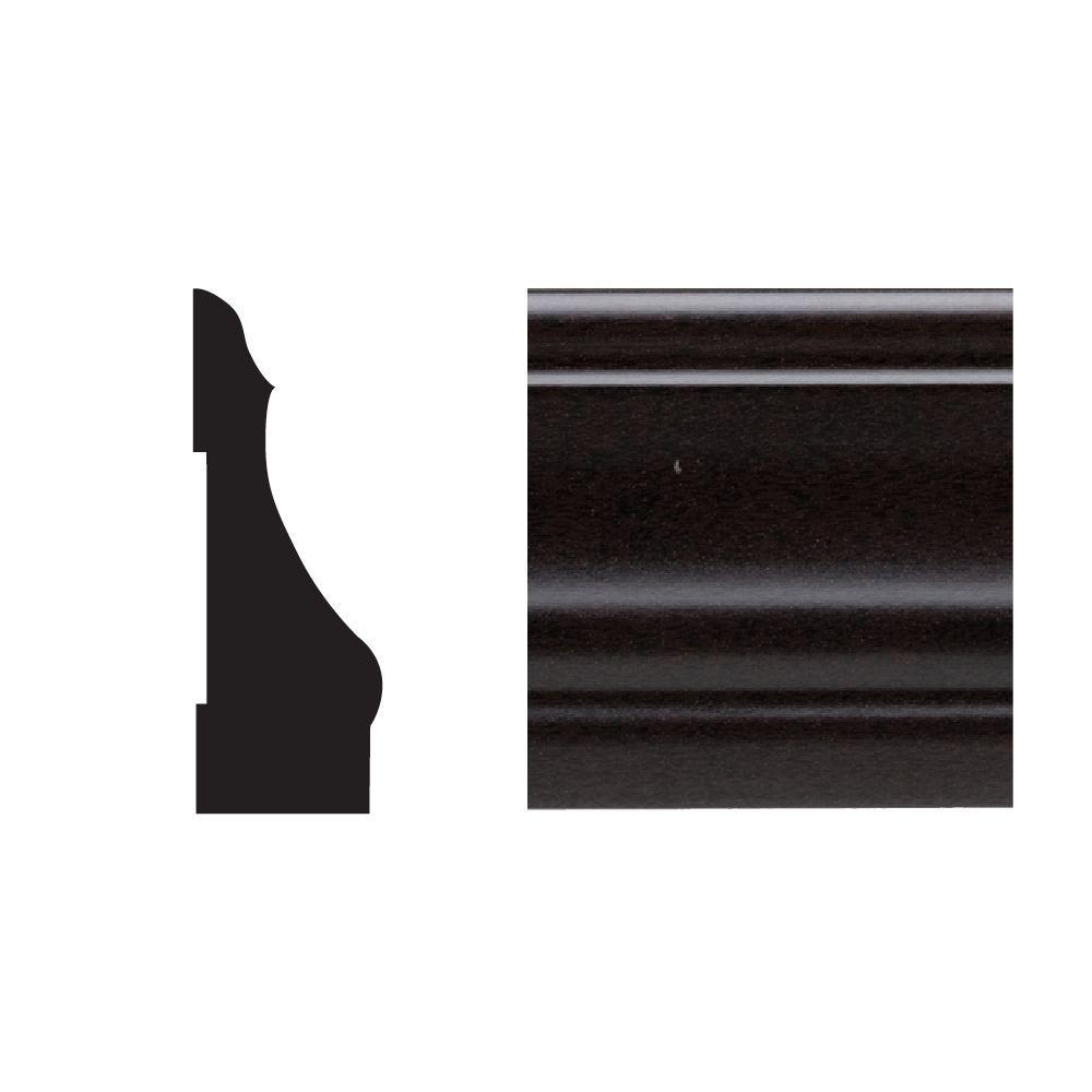 5445 9/16 in. x 2-1/4 in. x 7 ft. PVC Composite Colonial Espresso Casing