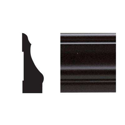 5445 9/16 in. x 2-1/4 in. x 7 ft. PVC Composite Colonial Espresso Casing