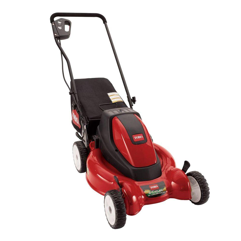 Toro 20 in. 36-Volt Cordless Electric Lawn Mower