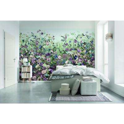 145 in. W x 97 in. H Botanical Wall Mural