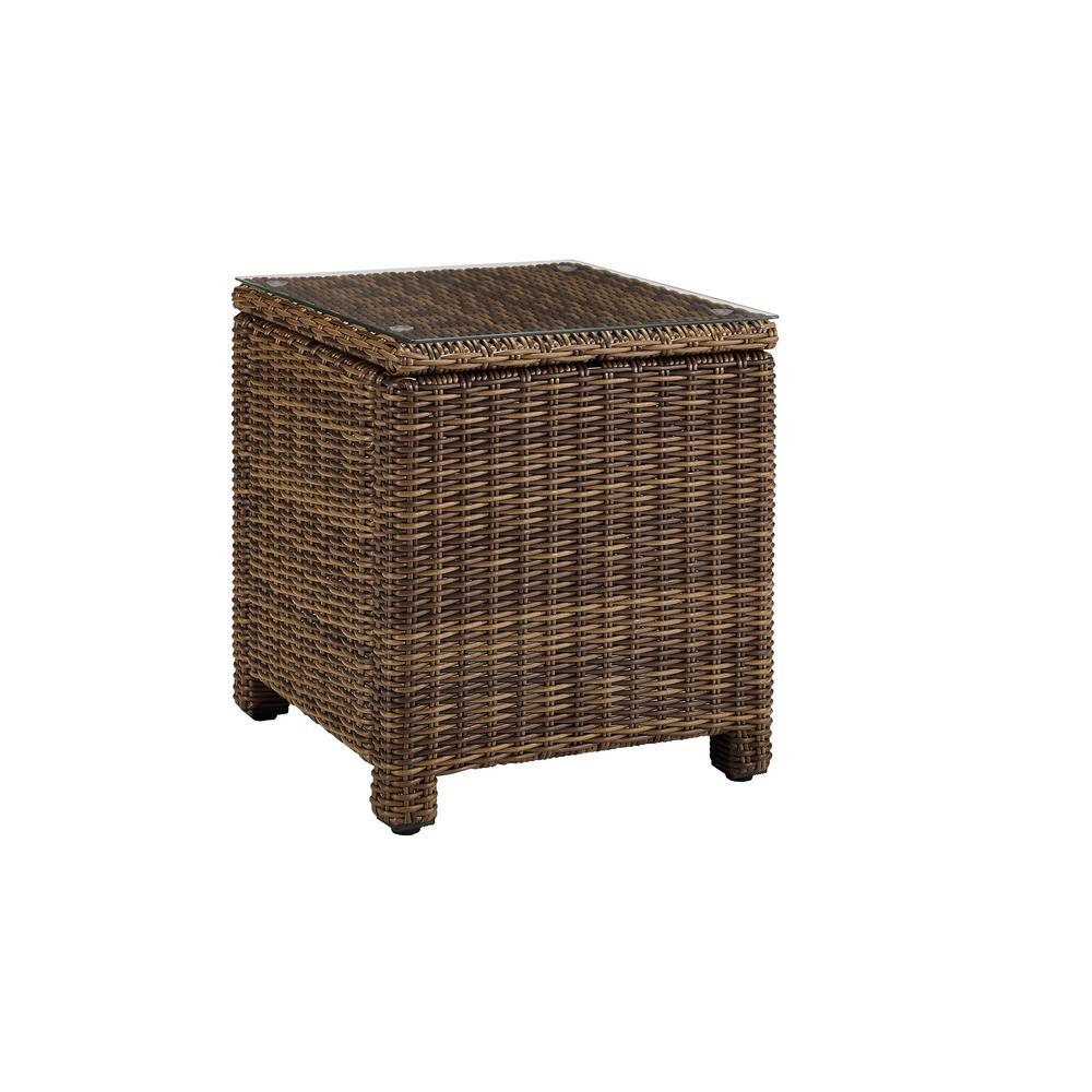 Bradenton Rectangular Wicker Outdoor Side Table