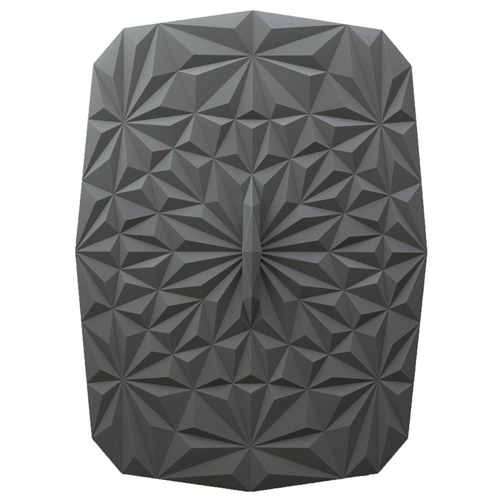 Rectangular Suction 9x13 Silicone Lid in Gray