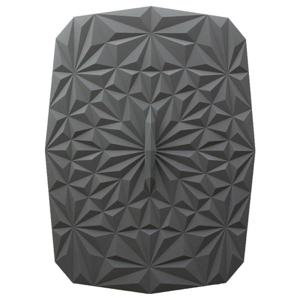 Rectangular Suction 9x13 Silicone Lid in Gray GIRLD6110GRY