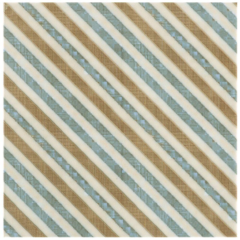 Boheme Matrix 7-3/4 in. x 7-3/4 in. Ceramic Floor and Wall Tile
