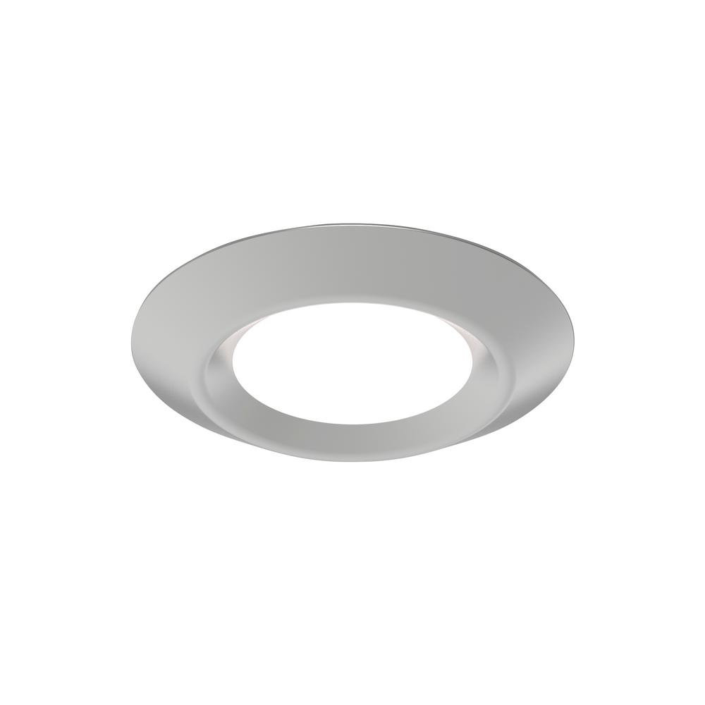 Sea Gull Lighting Traverse LED Lyte 6 in. Satin Nickel Integrated LED Recessed Kit
