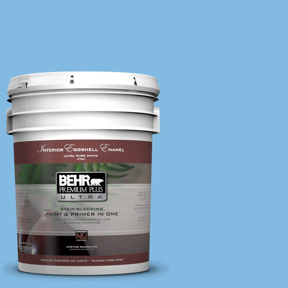 BEHR Premium Plus Ultra 5-gal. #560B-4 Enchanting Eggshell Enamel Interior Paint