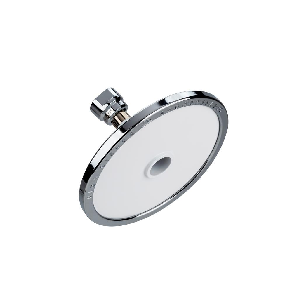 Tenaya PLUS 1-Spray 5 in. Round Fixed Shower Head with All