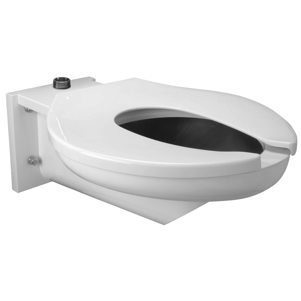 Awesome Zurn 1 Piece 1 6 Gpf Single Flush Elongated Toilet In Stainless Steel With Seat Ncnpc Chair Design For Home Ncnpcorg