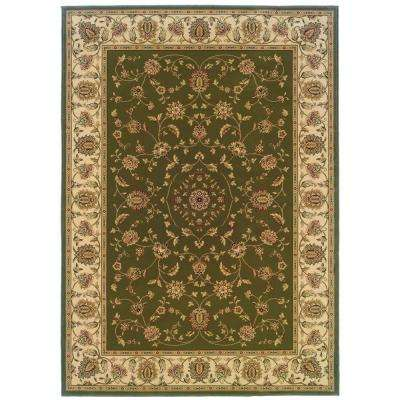 Kurdamir Rockland Green 5 ft. 3 in. x 7 ft. 7 in. Area Rug