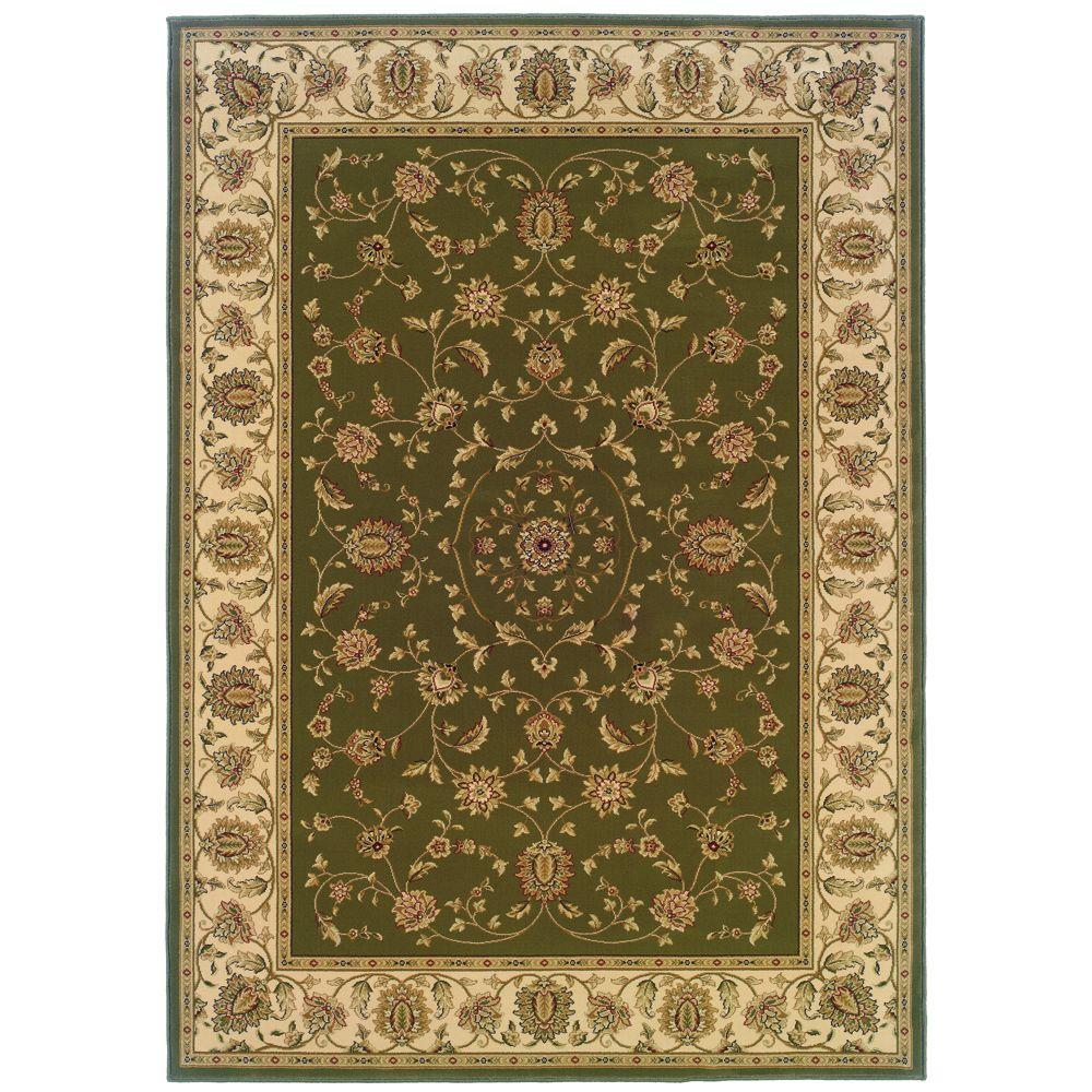 Natco Kurdamir Rockland Green 5 ft. 3 in. x 7 ft. 7 in. Area Rug