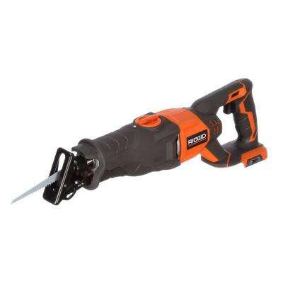 No tool blade change ridgid reciprocating saws saws the home 18 volt cordless orbital reciprocating saw console tool only greentooth Gallery