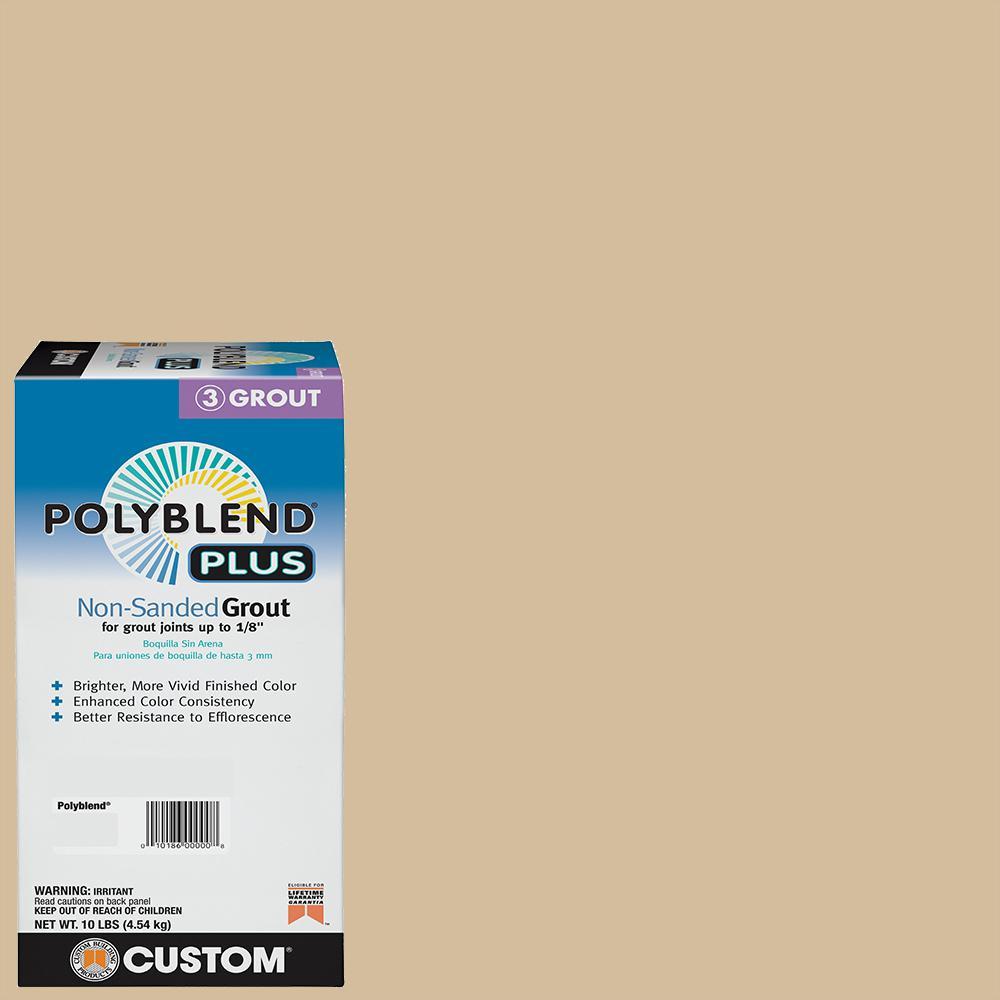 Polyblend Plus #122 Linen 10 lb. Non-Sanded Grout