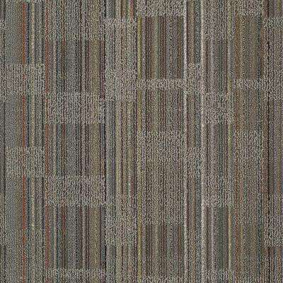 Designer Warm Gray Loop 24 in. x 24 in. Modular Carpet Tile Kit (18 Tiles/Case)