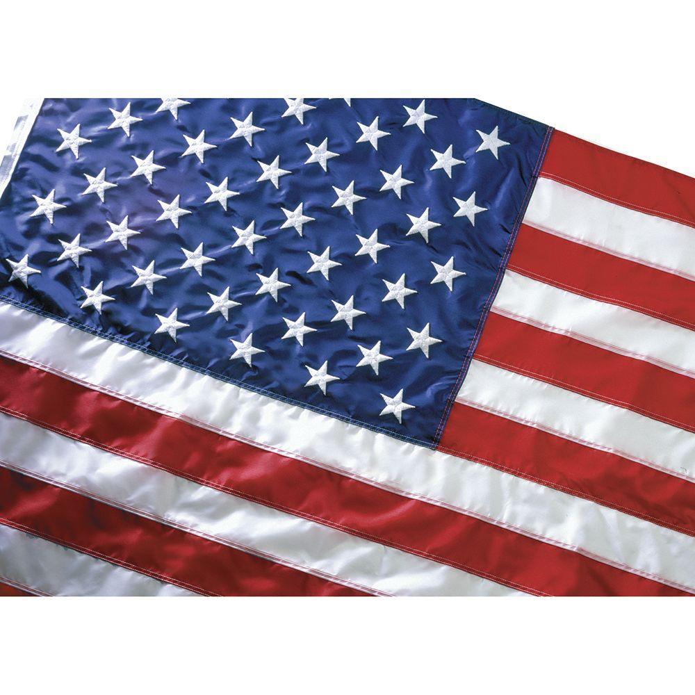 10 ft. x 15 ft. Nylon U.S. Flag