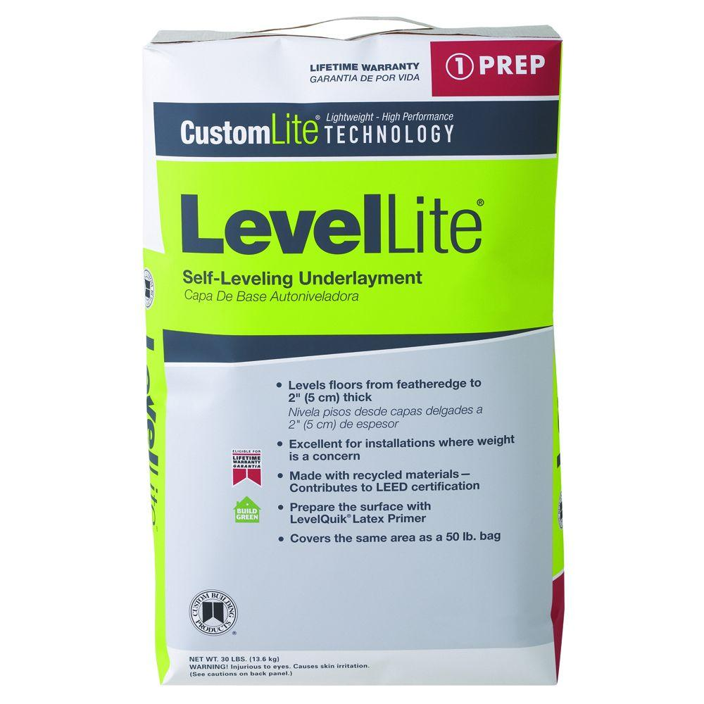 Home Depot Goods: Custom Building Products LevelLite 30 Lb. Self-Leveling