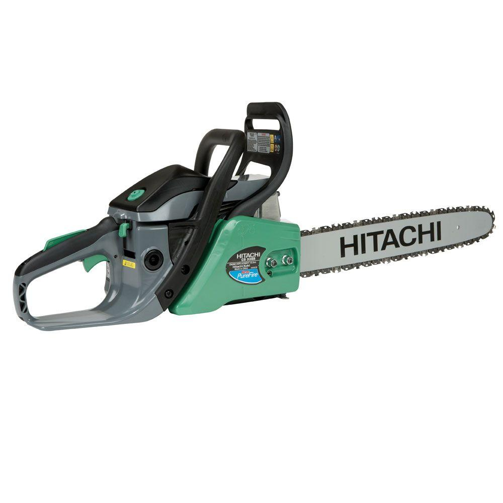 Hitachi 16 in. 32.2 cc Rear Handle Chainsaw