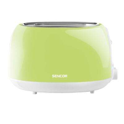 2-Slice Pastel Lime Green Toaster