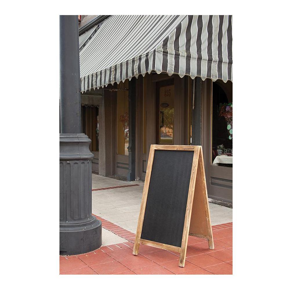 Suffolk Reclaimed Pine 2-Sided Chalkboard