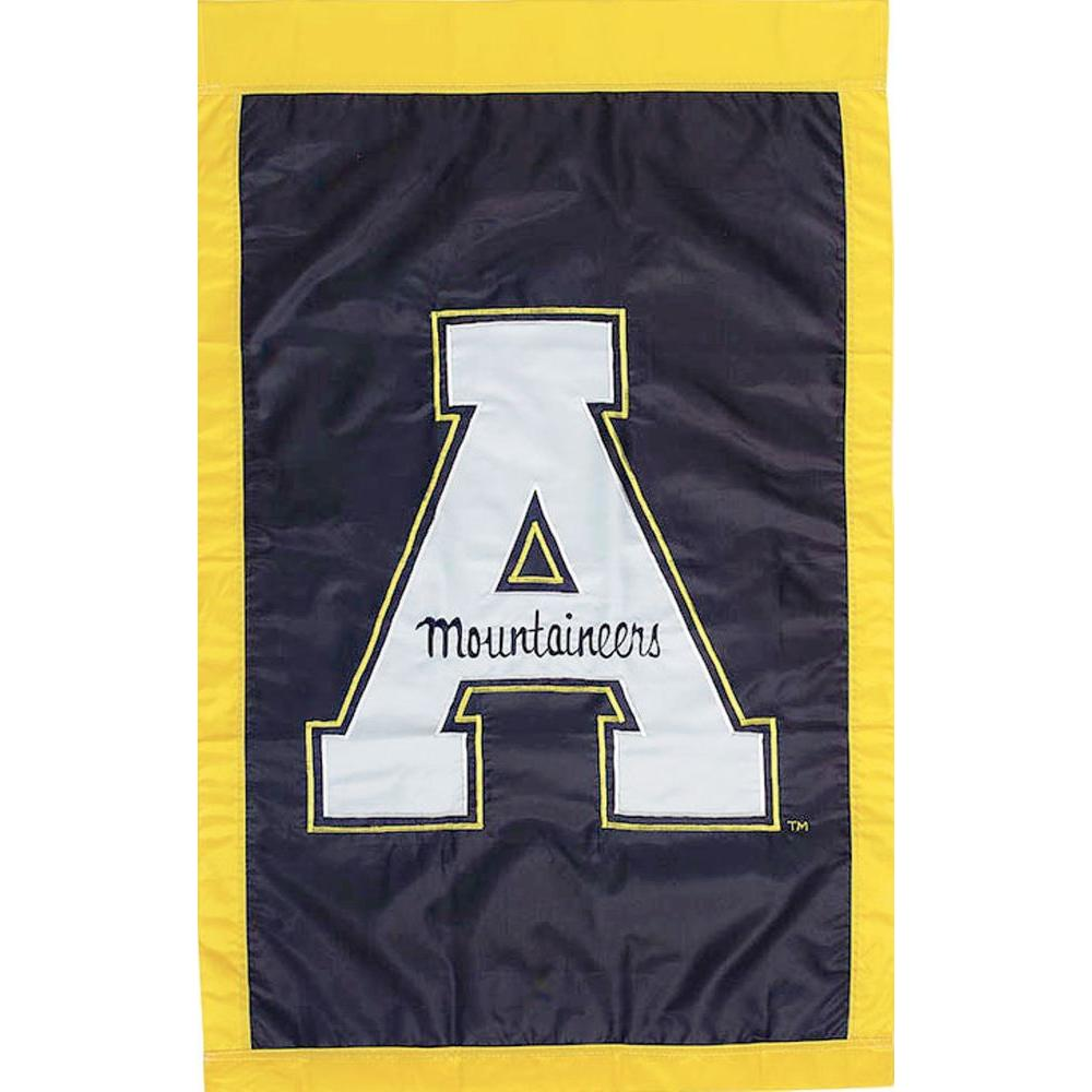 Evergreen Enterprises NCAA 12-1/2 in. x 18 in. Appalachian State 2-Sided Garden Flag