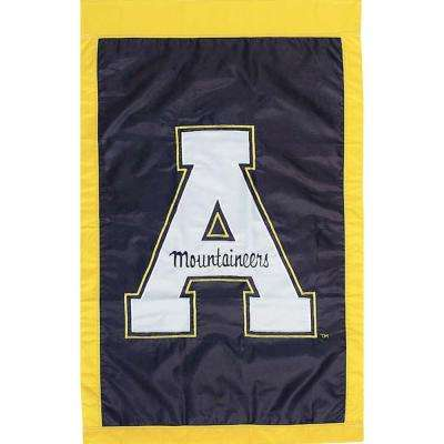NCAA 12-1/2 in. x 18 in. Appalachian State 2-Sided Garden Flag