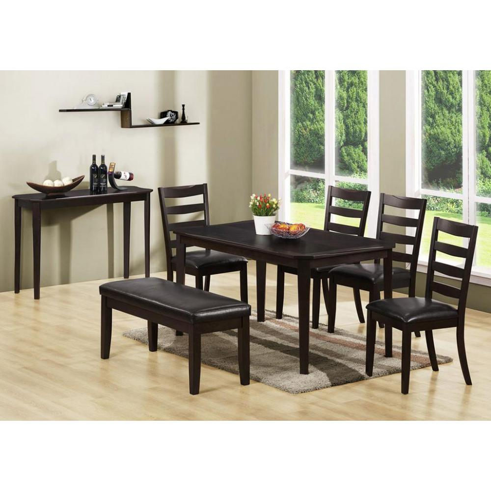 Monarch Specialties Cappuccino Side Chair (Set of 2)