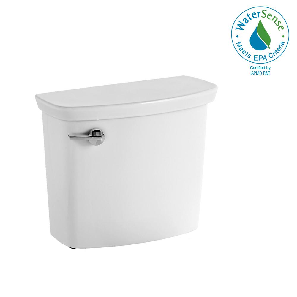 Vormax 1.28/1.6 GPF Single Flush Toilet Tank Only in White