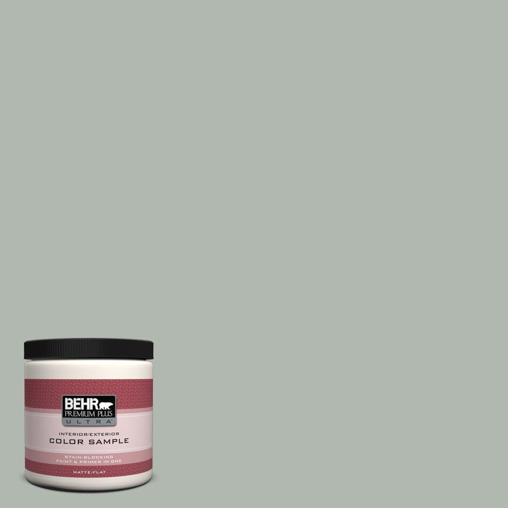 8 oz. #PPU12-15 Atmospheric Matte Interior/Exterior Paint and Primer in One