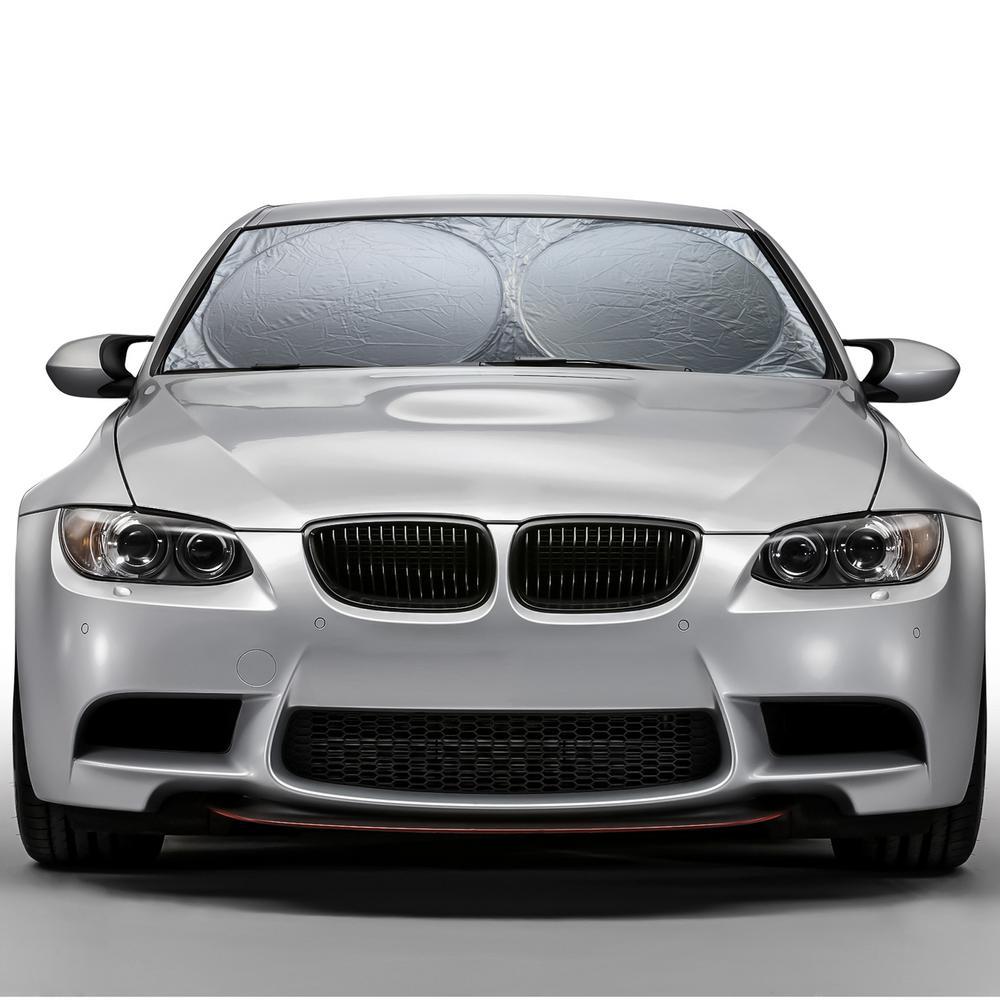 OxGord Auto Foldable Auto Sun Shade Visor-CASV-TH-102F - The Home Depot eb7227335ce