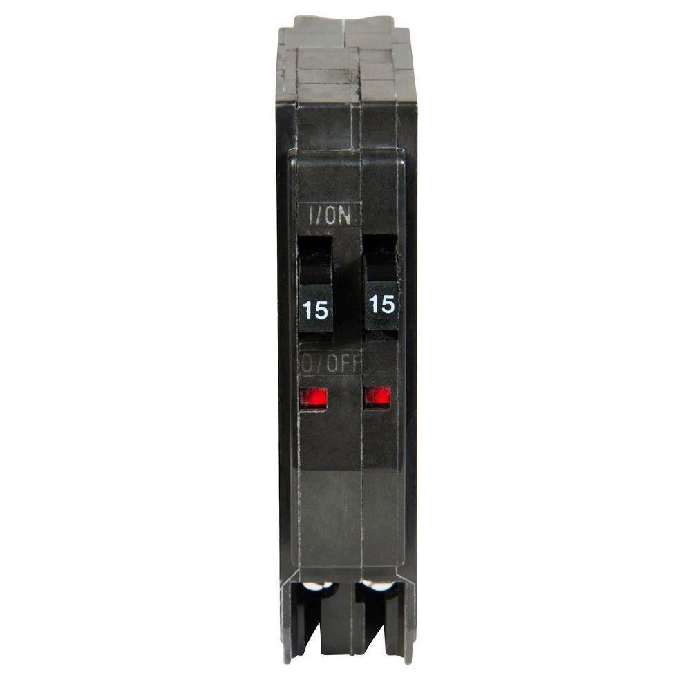 QO 2-15 Amp Single-Pole Class CTL Tandem Circuit Breaker