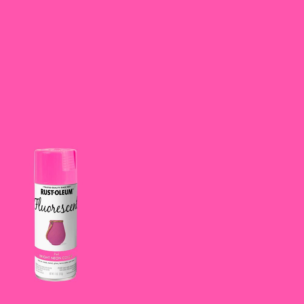 Rust-Oleum Specialty 11 oz. Fluorescent Pink Spray Paint