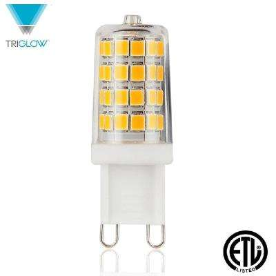 40-Watt Equivalent G9 Base 330-Degree Soft White LED Light Bulb