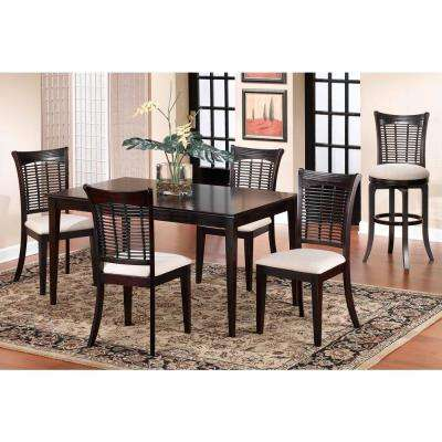 Bayberry 5-Piece Dark Cherry Dining Set