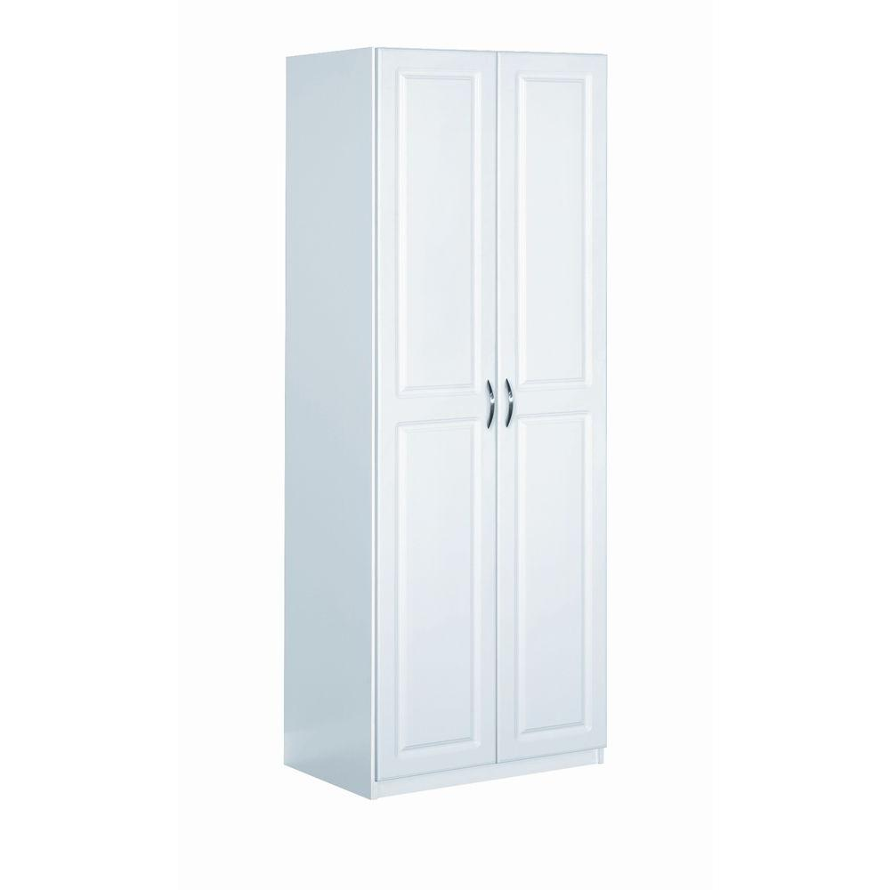 ClosetMaid Dimensions 24 in. x 72 in. White Cabinet  sc 1 st  The Home Depot & ClosetMaid Dimensions 24 in. x 72 in. White Cabinet-13001 - The Home ...