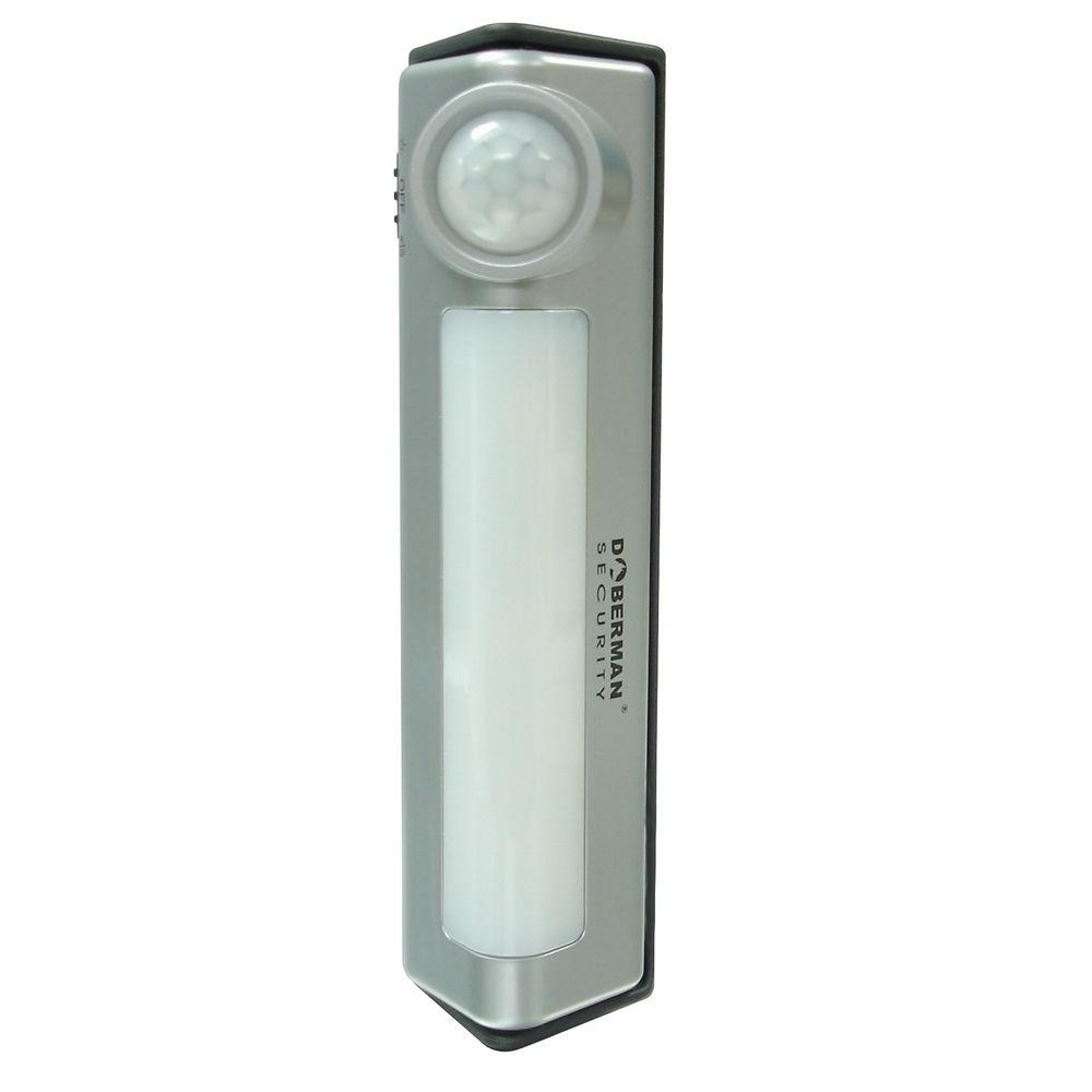 Home Security Motion Detector Light/Alarm Combo