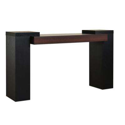 Jerusha Black Sofa Table